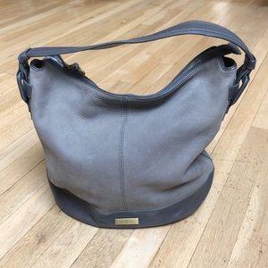 Cole Haan Leyden II Leather Bucket Hobo Bag
